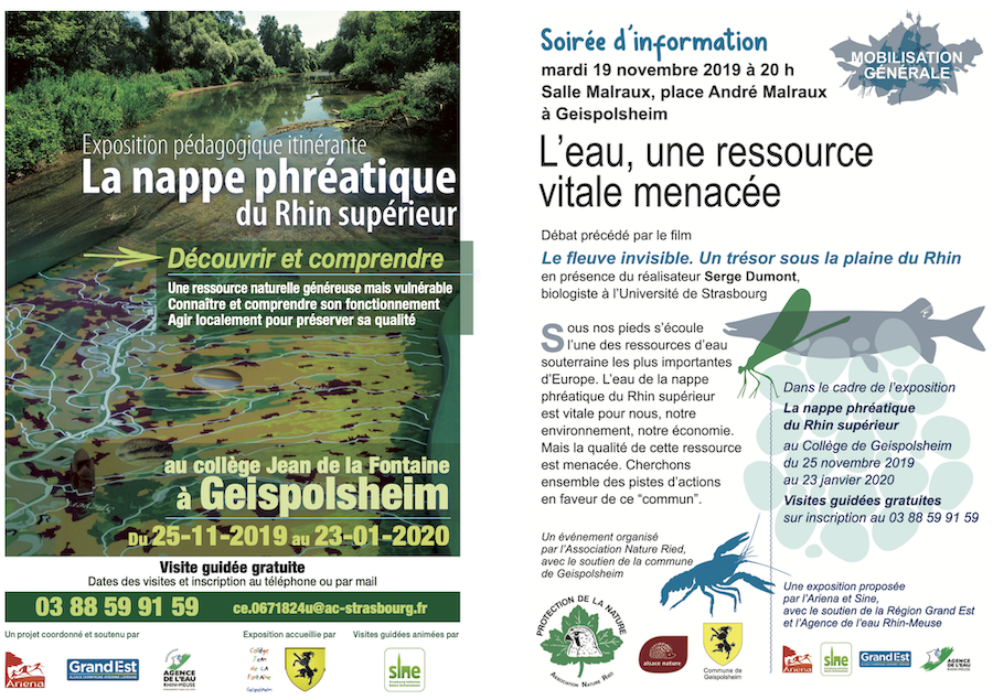 AfficheNappePhreatique